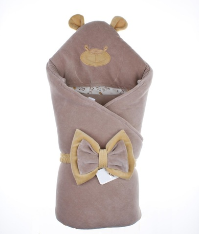 Конверт-одеяло Little Bear коричневый