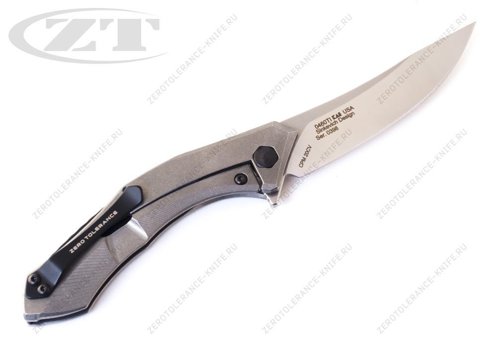 Нож Zero Tolerance 0460Ti Sinkevich - фотография
