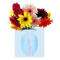 Силиконовая настенная ваза для цветов Волшебная ваза