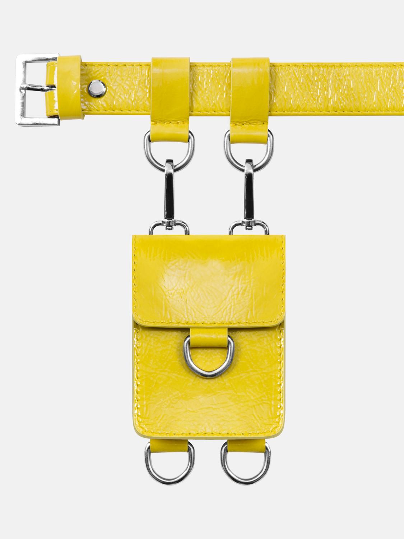 Сумочка с кольцом (желтая)