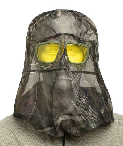 Cупернакомарник с защитными очками. Входят в комплект Хаки К2ЗЖП
