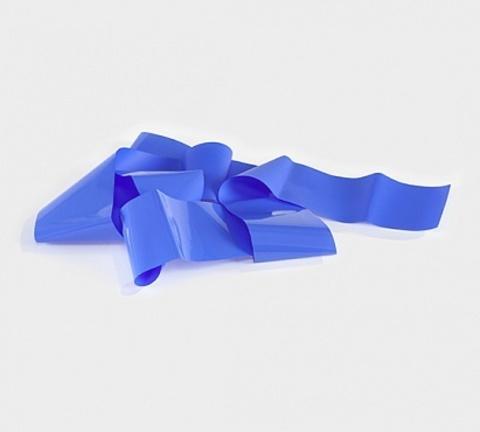 Фольга матовая (синий) 1м х 5 см 07230125