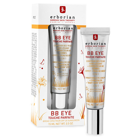 Erborian BB корректирующий крем для кожи вокруг глаз BB Eye Touche Parfaite Smothing Eye Cream + Concealer Baby Skin Effect 3-in-1 SPF 20
