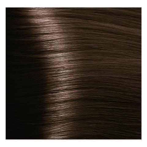 Крем краска для волос с гиалуроновой кислотой Kapous, 100 мл - HY 4.3 Коричневый золотистый
