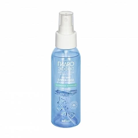 Белита Гидроэффект Легкий спрей-уход для всех типов волос абсолютное увлажнение уф-защита 100мл