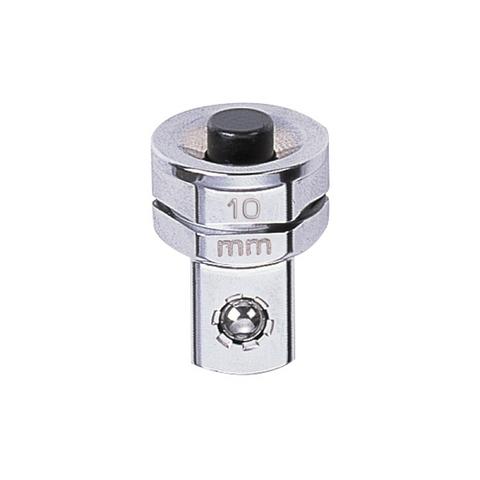 KING TONY (373202R) Переходник для трещоточных ключей на 10 мм для головок 1/4