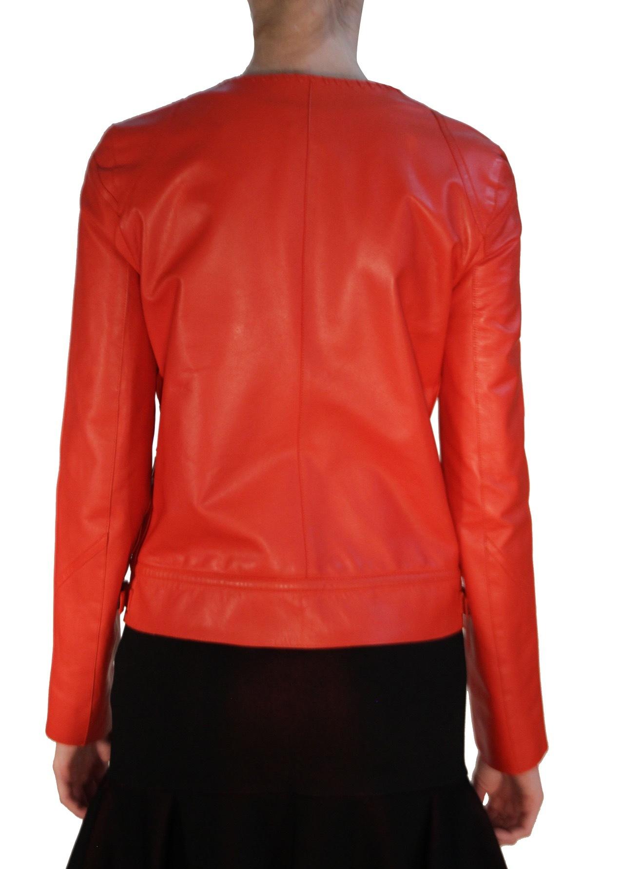 Куртка кожаная ROBERTO CAVALLI