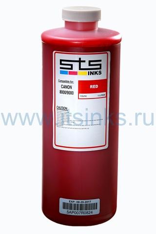 Пигментные чернила STS для Canon Red 1000 мл