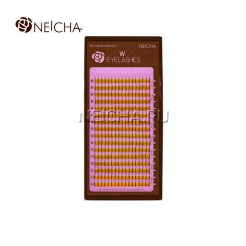 Ресницы NEICHA тройные W-тип 16 линий (отдельные длины)