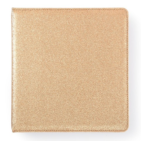 Альбом Small  Creative Photo Album от Webster's Pages -23/22/5 см-Gold Glitter