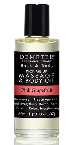 Масло для массажа «Розовый грейпфрут» от Demeter