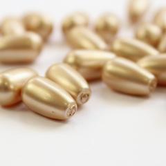 5816 Хрустальный жемчуг Сваровски Crystal Vintage Gold Капля с несквозным отверстием 11,5х6 мм