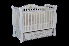 Кроватка детская  Julia 111 апликация универсальный маятник+ящик