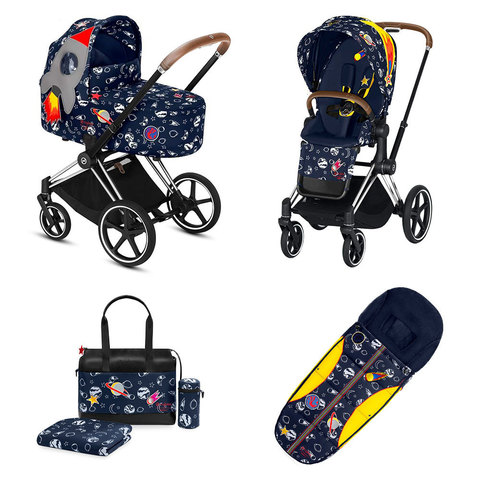 Набор Cybex Priam Lux III FE Space Rocket by Anna K chrome
