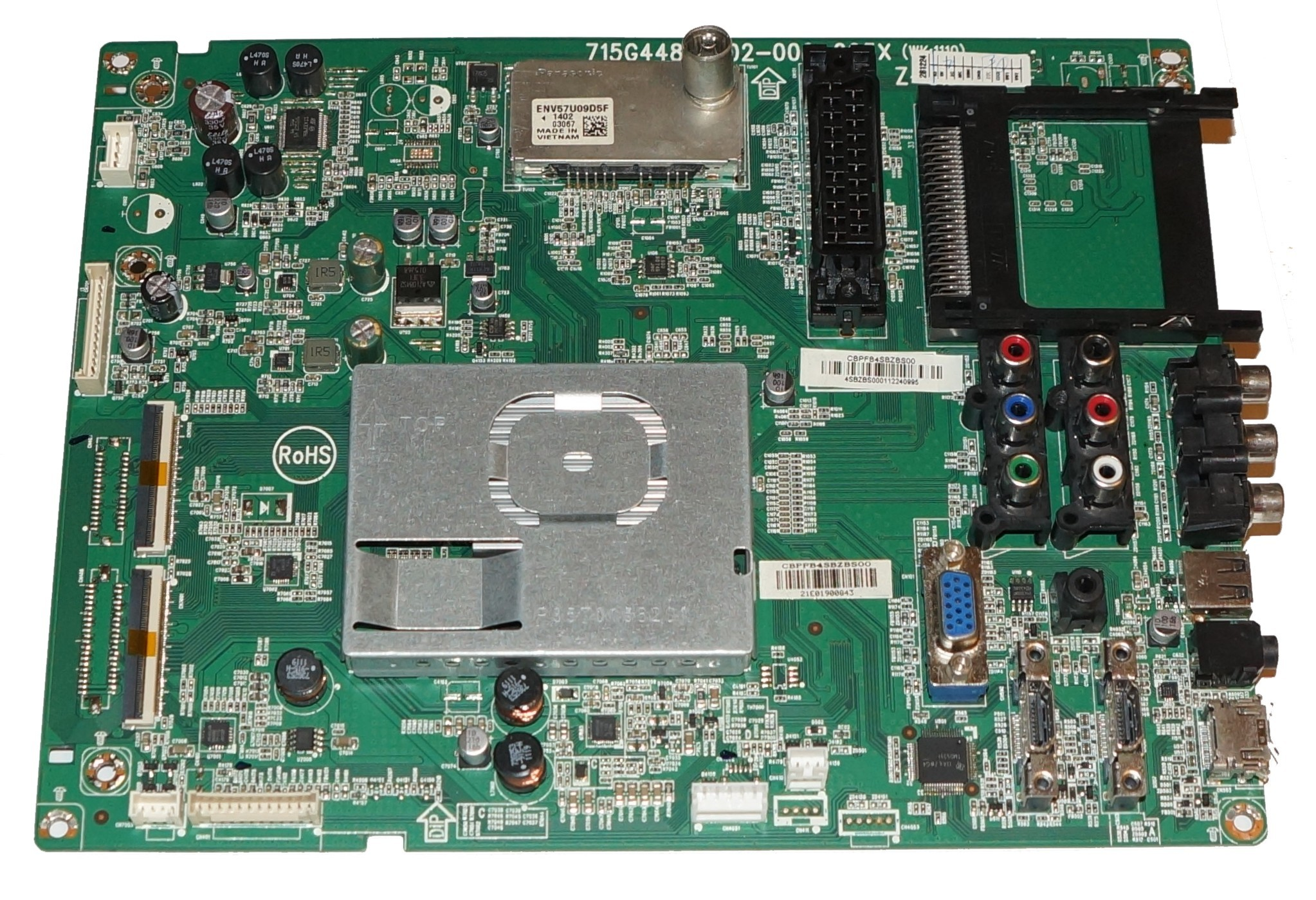 715G4481-M02-000-005X (WK:1110) mainboard телевизора Philips