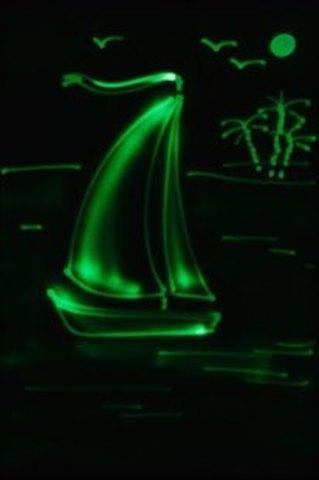 Набор «Рисуй светом – Световые картины» А3, Звездное небо