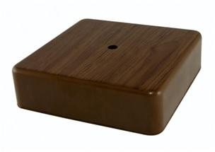 Коробка распаячная КР 75х75х20 ОП бук, с клем. колодкой, IP40, инд. штрихкод TDM