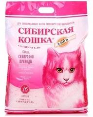 Сибирская кошка силикагелевый впитывающий, розовый