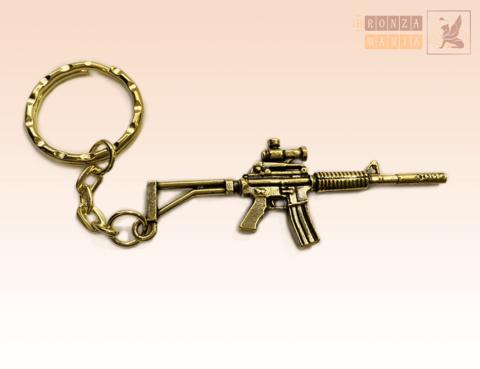 брелок Автомат М16 (Штурмовая винтовка) Тактический вариант
