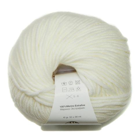 Купить Пряжа Filati Merino 90 Код цвета 001 | Интернет-магазин пряжи «Пряха»