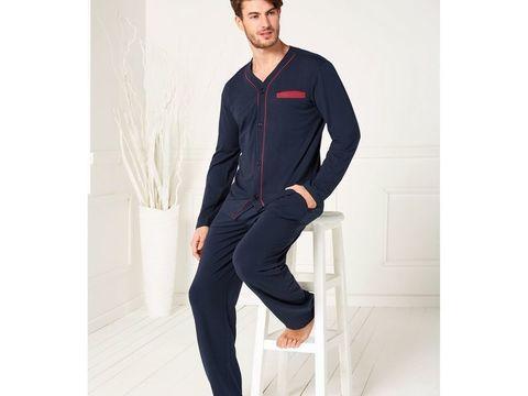 Комплект белья домашний для мужчин синий Doreanse 4505