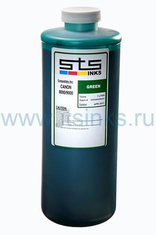 Пигментные чернила STS для Canon Green 1000 мл