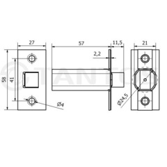 Электромеханический замок-защелка TS-EML300