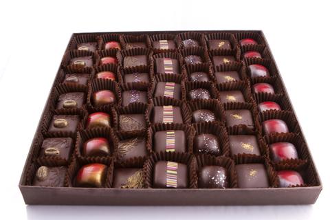 Набір шоколадних цукерок 49 шт.