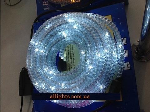 Гофрированный дюралайт белый шланг светодиодный 10 метров смотреть