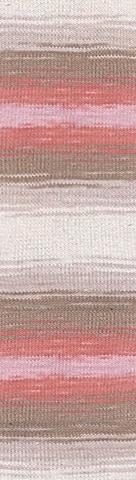 Пряжа Alize Cotton Gold Batik бел-роз-беж 5970