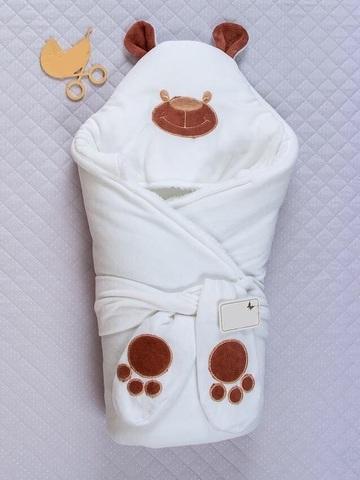Конверт-одеяло Little Bear белый