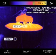 Спектр свечения фитолампы UFO