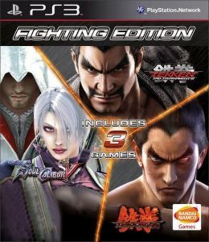 Fighting Edition (PS3, Tekken 6 + Soul Calibur 5 + Tekken Tag Tournament 2)