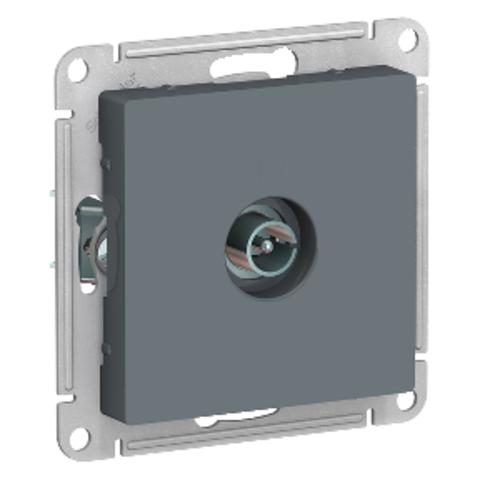 Антенна TV коннектор. Цвет Грифель. Schneider Electric AtlasDesign. ATN000793
