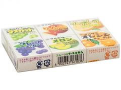 Жевательная резинка Marukawa Ассорти из 6 фрук. вкус. (апел.,грейпфр.,дыня, ябл.,виногр.,зел.виногр)