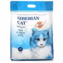 Сибирская кошка силикагелевый впитывающий, синий