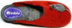 Домашние тапочки мягкие женские Inblu NC- 1B Mouse Rad