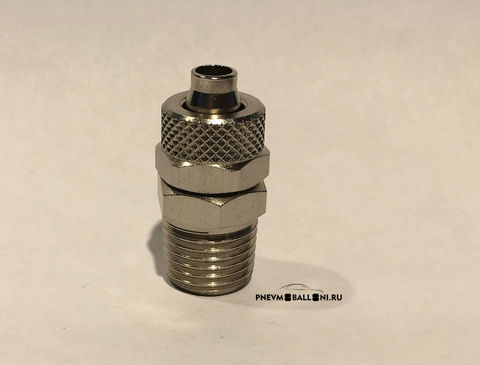 Прямой фитинг c накидной гайкой 1510 8/6-3/8 . Фотография