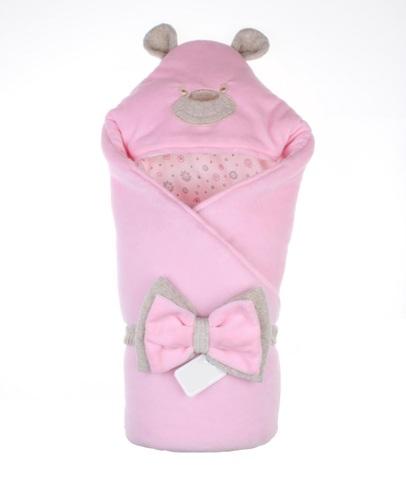Конверт-одеяло Little Bear розовый