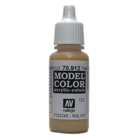 Model Color Tan Yellow 17 ml.