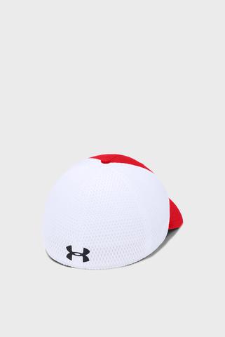 Мужская красная кепка Train Spacer Mesh Cap Under Armour