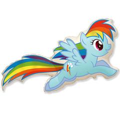 F Мини фигура Пони Радуга / MLP Rainbow Dash (14