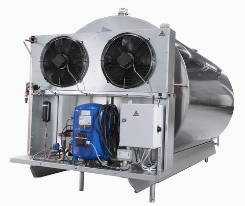 1600 литров   Агрегаты охлаждения для танка охладителя молока DF953 Wedholms на раме в комлпекте