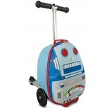 Самокат-чемодан - Sparky The Robot, Zinc