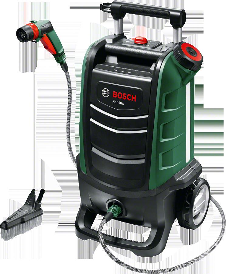 Аккумуляторный бытовой очиститель Fontus от Bosch (Без аккумуляторного блока и зарядного устройства)