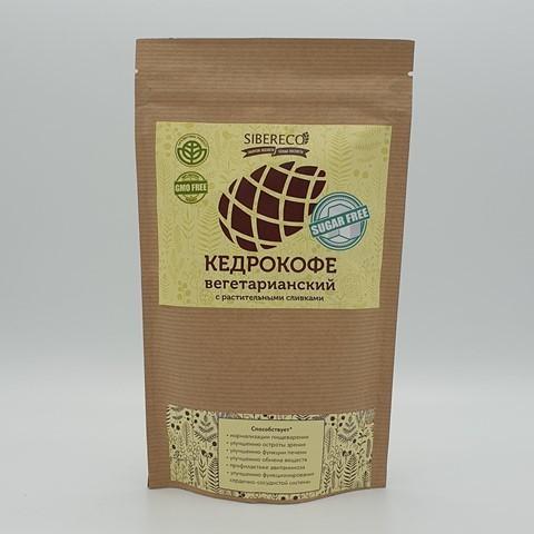 Кедрокофе вегетарианский на растительных сливках без сахара SIBERECO