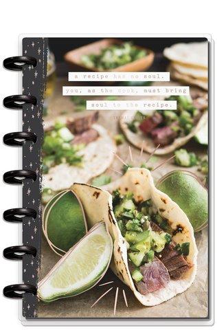 Блокнот для записи рецептов Happy Planner Mini Notebook -Sheets Recipe Foodie-60 л