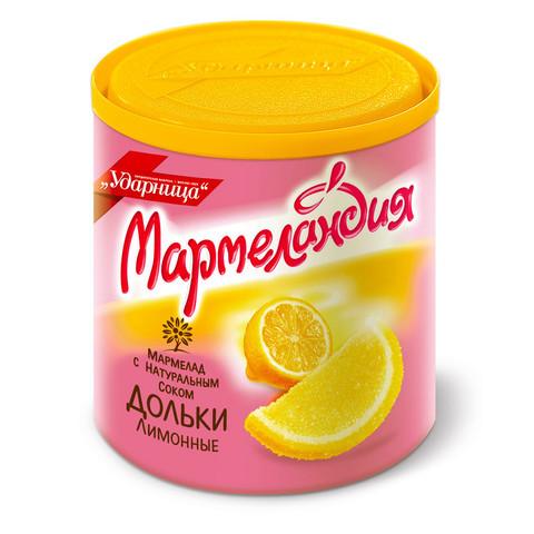 Мармелад Мармеландия лимонные дольки 250 г