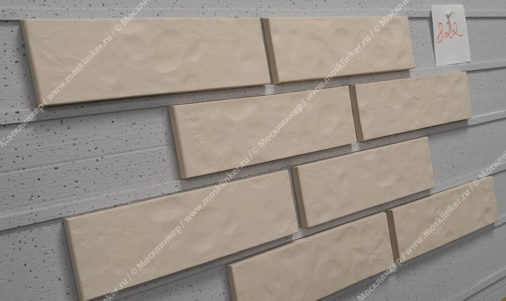 Roben - Montblanc, perlweiss, NF14, 240x14x71, рельефная - Клинкерная плитка для фасада и внутренней отделки