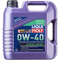 7536 LiquiMoly Синт.мот.масло  Synthoil Energy 0W-40 SM/CF;A3/B4(4л)
